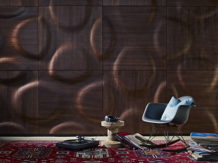 kreative wandgestaltung holzverkleidung innen deko ideen platten - Gemutliche Holzverkleidung Innen