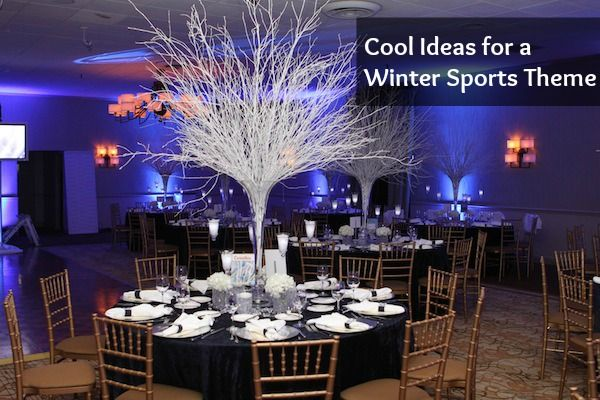 Ideas For A Winter Sports Theme Bar Amp Bat Mitzvah Amp Party