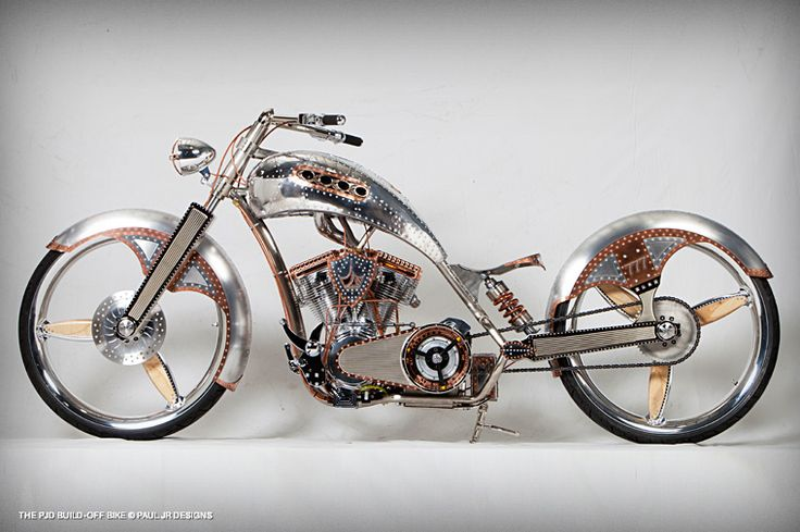 """PJD Build off Bike"", Paul Teutul Jr. http://pauljrdesigns.com/"