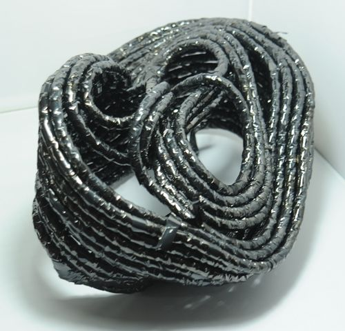 Video Tape wrapping - part of body works