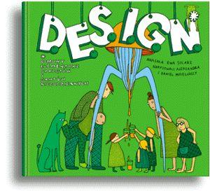 Book for kids about design by Ewa Solarz, ilustrated by Aleksandra and Daniel Mizielinscy