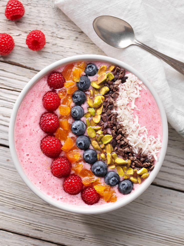 This Berry Rainbow Smoothie Bowl is a perfect #pictureperfectplate to start your day with!  This whole month we will be celebrating you by giving you some inspiration to help start your morning off right!