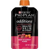 Purina Pro Plan Additions Beef & Carrot Puree Dog Food Topper, 3.2-oz, case of 14
