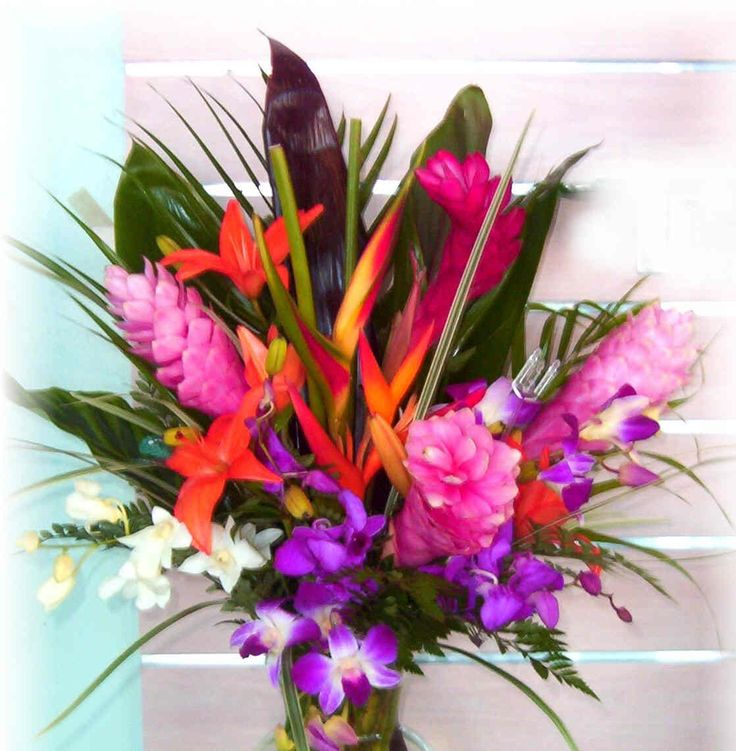 Tropical Flowers | Tropical-Wedding-Flowers