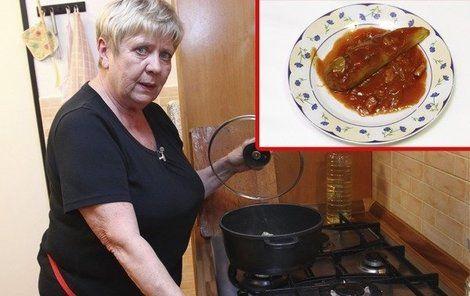 Jaroslava Obermaierová a její plněné papriky