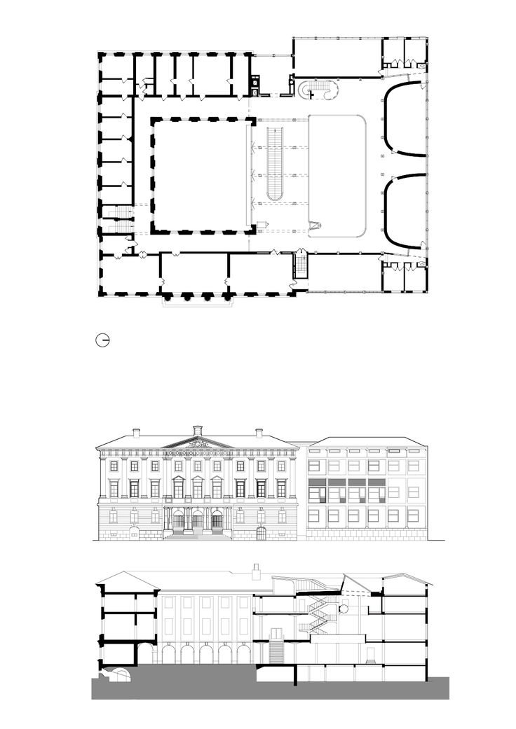 Plans_ Sections and Elevations - Gothenburg Law Courts Annex - Gunnar Asplund.pdf