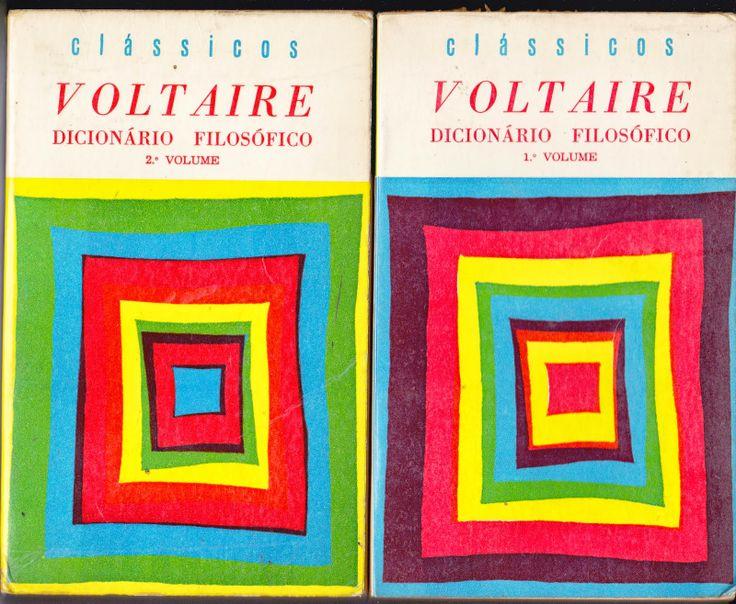 Mito de Sísifo: Voltaire - Dicionário Filosófico. 1ª edição (2 vol...