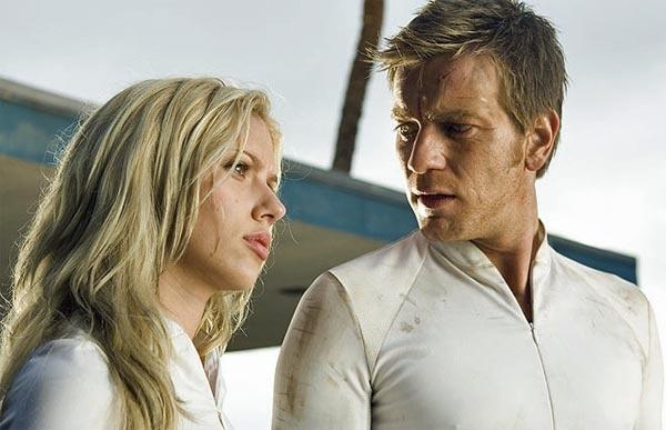The Island 2005 with Scarlett Johansson and Ewan McGregor.