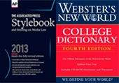 Stylebook and Webster's New World