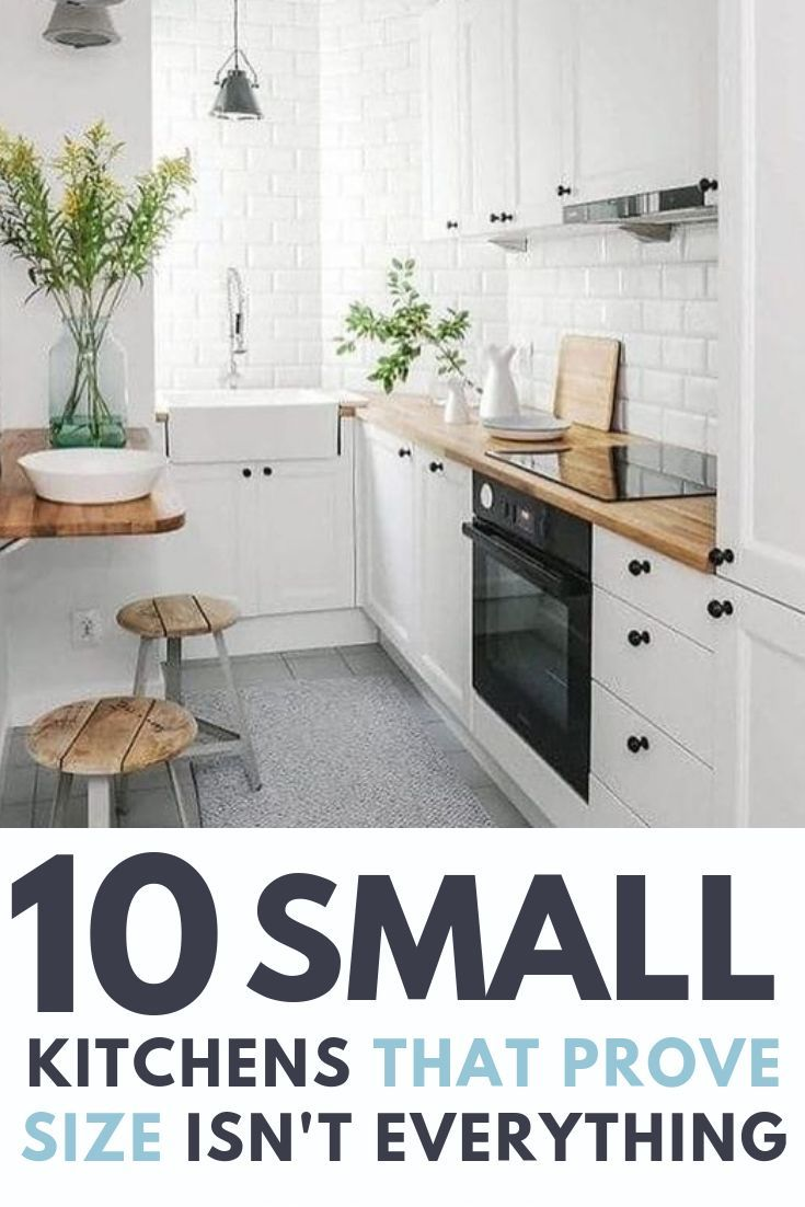 10 Small Kitchens That Prove Size Doesn T Always Matter Tiny Homes