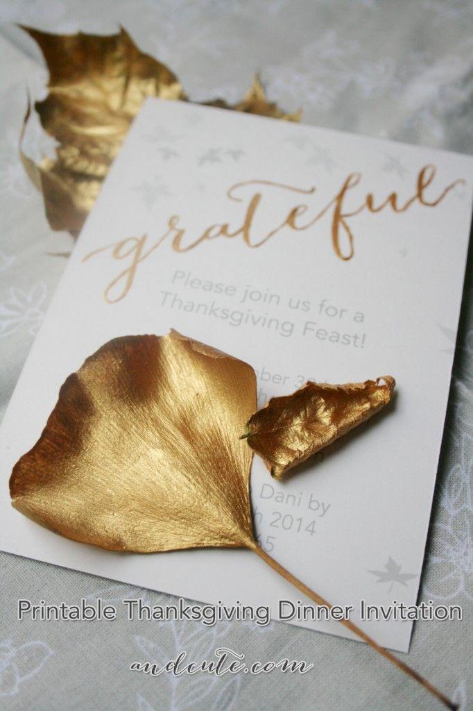 Best 25+ Thanksgiving invitation ideas on Pinterest Friends - printable dinner invitations