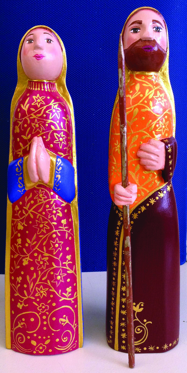 Pesebre - José y María