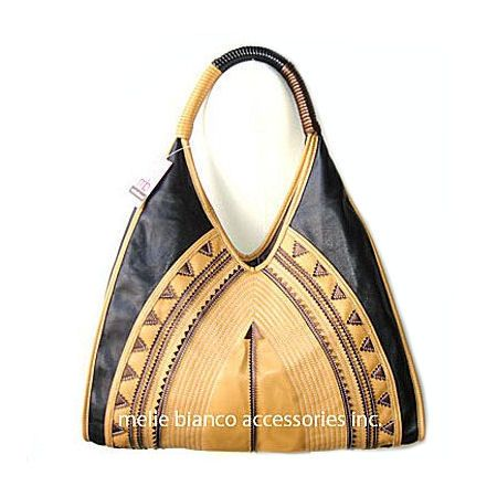 ~~Melie Bianco Ethnic Bohemian Applique bag black~~