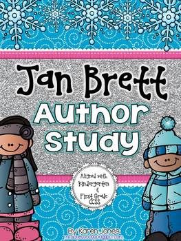Jan Brett Author Study for the primary classroom! Lots of great materials to learn about one of my favorite winter authors :) $