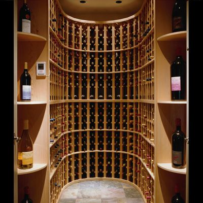Traditional Wine Rack from Apex Saunas & Wine Cellars