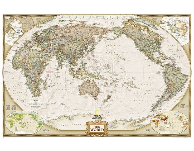 buy pacific centered large and laminated world wall map on laminated wall maps id=25602