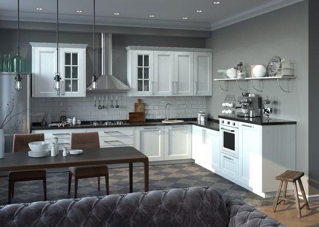 Фотография:  в стиле , Кухня и столовая, Перепланировка, Mr.Doors, планировка кухни-гостиной, перепланировка кухни-гостиной в сталинке – фото на InMyRoom.ru