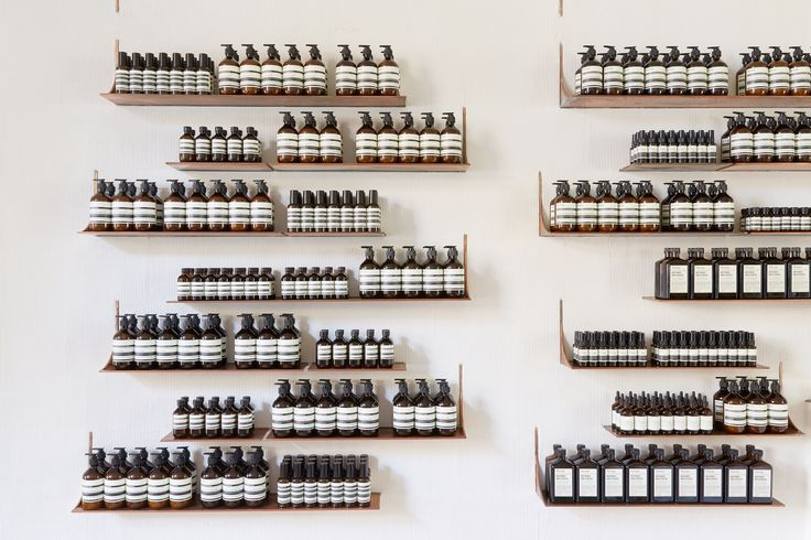 Tacklebox uses copper accents at Aesop store in San Francisco whiskey warehouse