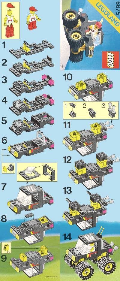 Lego instructions!