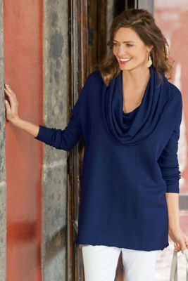 French Terry Tunic from Soft Surroundings