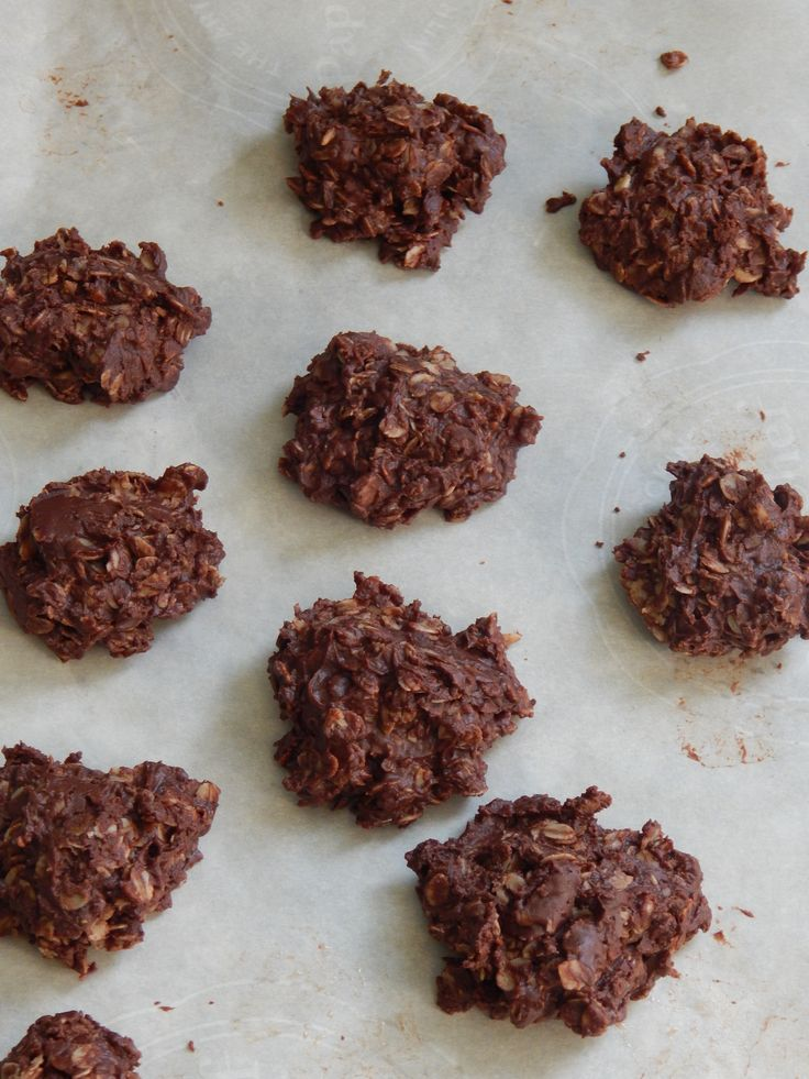 Traditional Chocolate No Bake Cookies get a healthy makeover in this recipe. Just as delicious but made with honey and coconut oil.