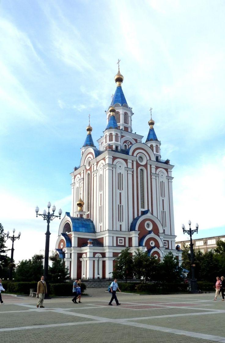 極東ロシア・ハバロフスクを訪ねて①・・・シニア一人旅・初めてのハバロフスクは大洪水だった!