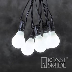 Konstsmide 4640-100 Connectable Christmas Festoon Lights - 10 LEDs