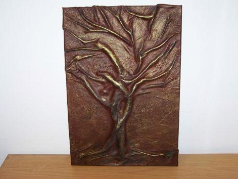 Bőrkép (fa) - Bőrképek,bőrtárgyak,bőrrózsa,ajándék