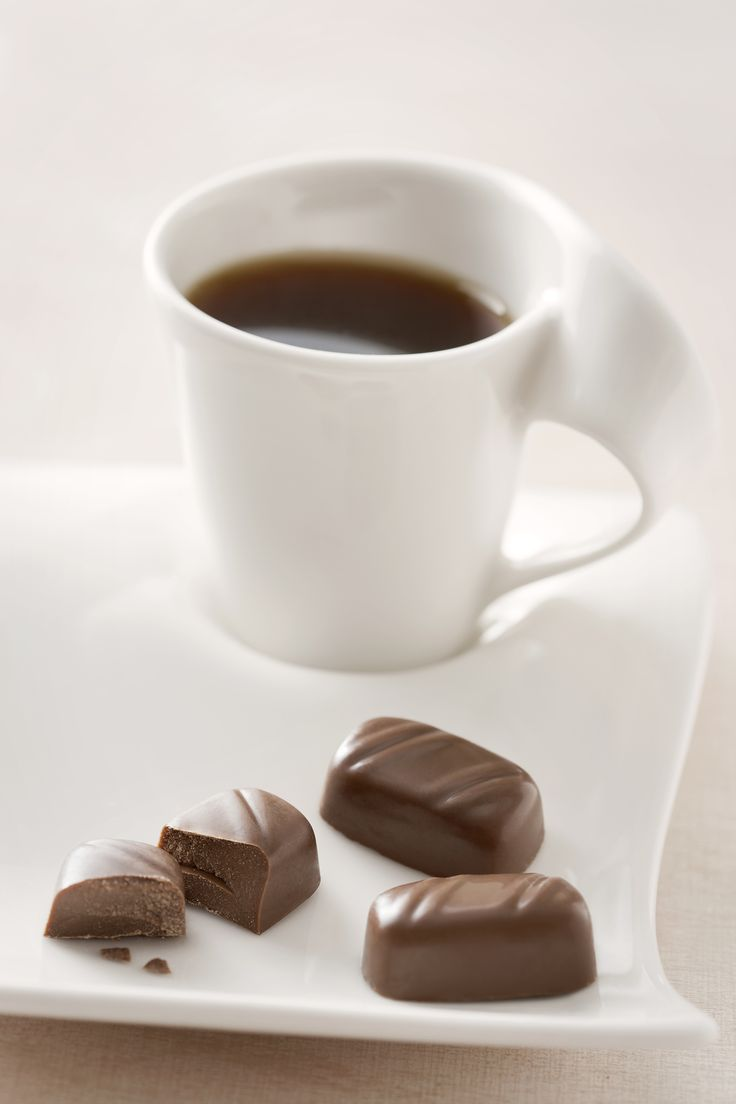 Relax with #coffee and #chocolate