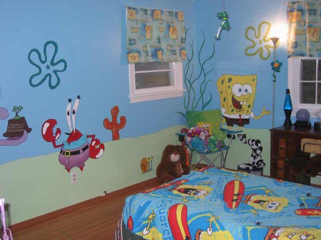 SpongeBob Room  Painted 2005. 26 best SpongeBob room images on Pinterest   Bedroom ideas  Kid