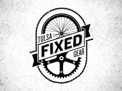tulsa fixed gear logo pinterest fixed gear bike logo and gears