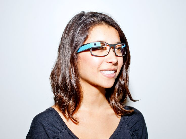 Google glass with new frames
