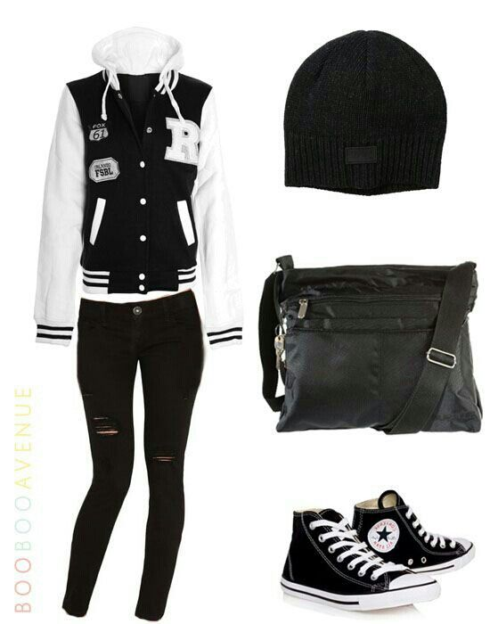 Varsity Jacket Outfit Ideas Uberlyon Com