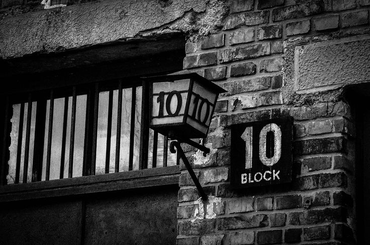 Block 10 - from April 1943 experimental station of gynecologist Carl Clauberg who made sterilisation experiments on female prisoners.