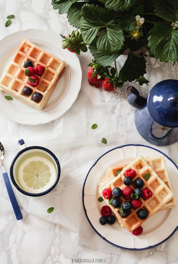 Waffle di farro, allo yogurt greco e latte di avena (5)