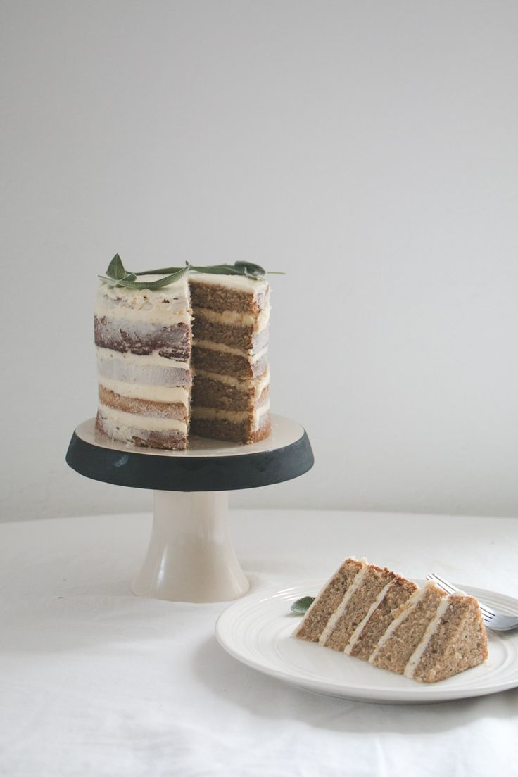 Earl Grey Layer Cake with Lemon Buttercream