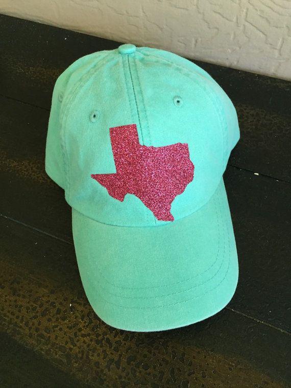 Texas baseball cap by MySweetDixieDesigns on Etsy