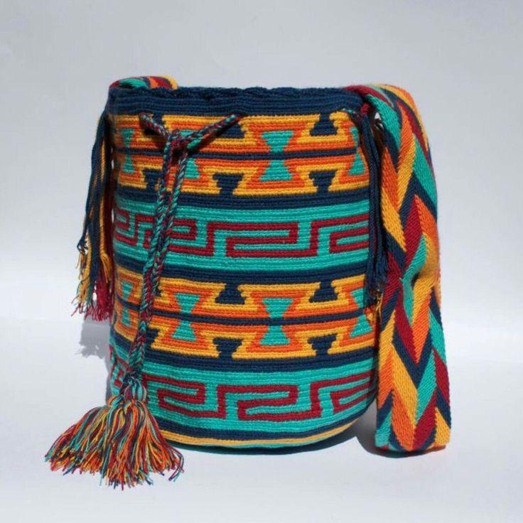 Wayuu Mochila bag keys