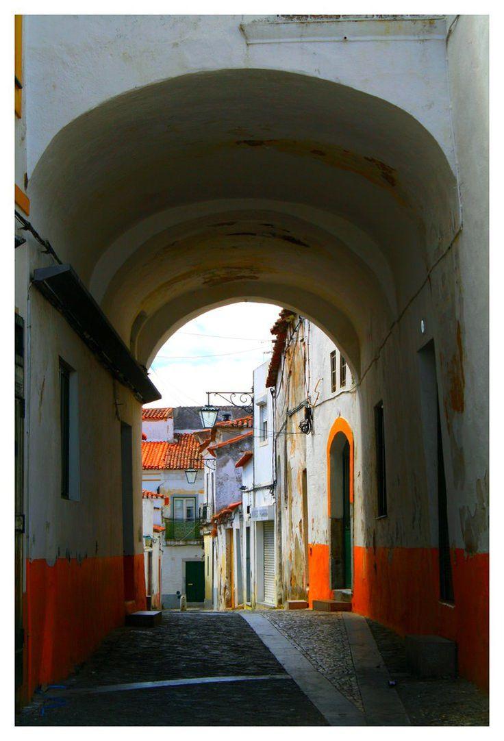Beja Old Street II  -Beja - Baixo ALENTEJO, PORTUGAL     by FilipaGrilo