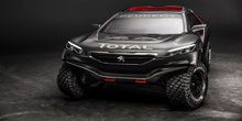 Peugeot 2008 DKR Race Car ready for competition