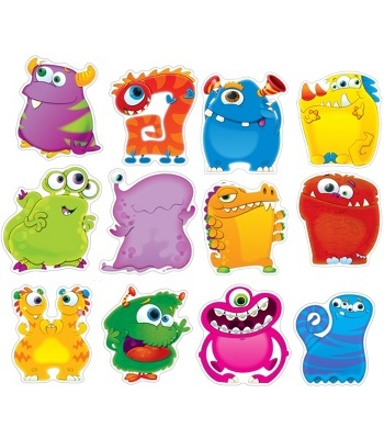 Monster Talkers Bulletin Board Set - Carson Dellosa Publishing Education Supplies also use for behavior charts ?