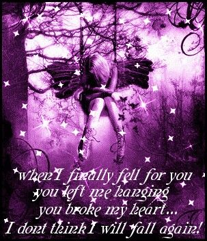 Broken hearted