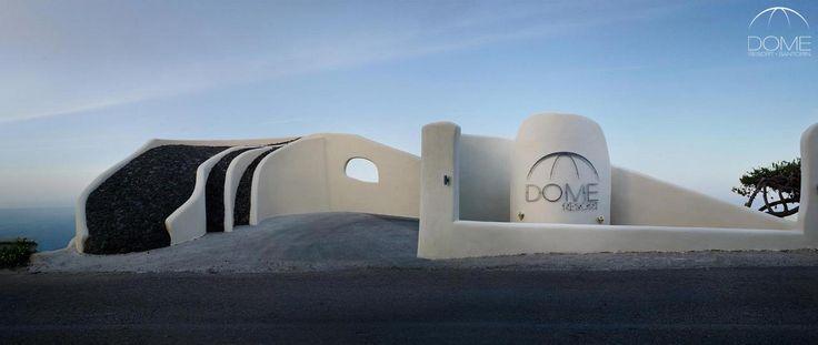 Temptation in volcanic soil…Welcome to Dome Santorini Resort! More at domesantoriniresort.gr