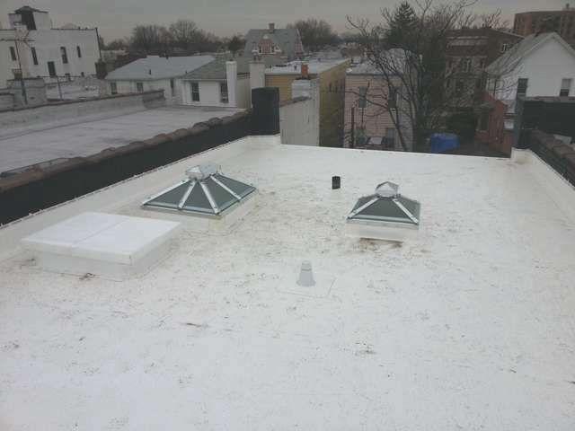 IB PVC Flat Roof Installed In Brooklyn NY