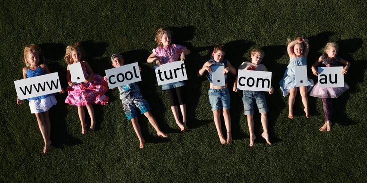 Kids on instant turf