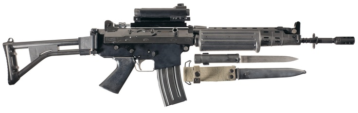 FN FNC rifle 5.56x45 FAL