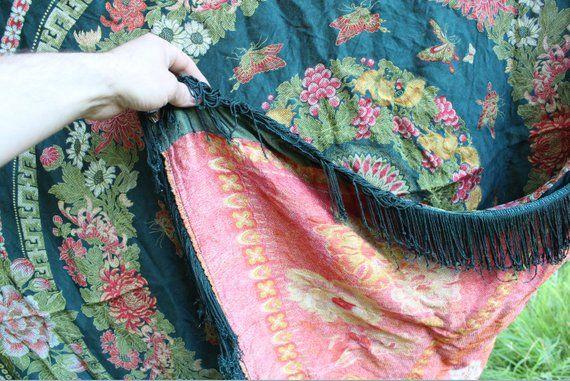 Japan Vintage Silk Carpet.Vintage carpet.Japan Sty…