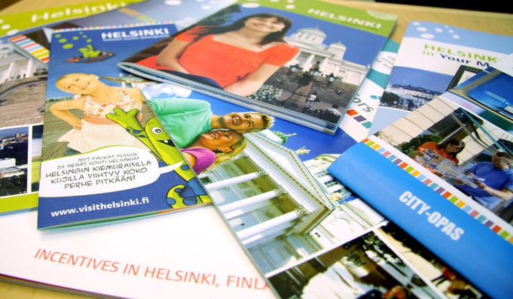 Downloadable pdf brochures for things to do in Helsinki
