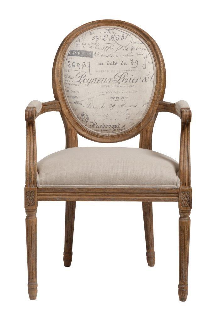 Деревянное, мягкое кресло Kellotau  чрезвычайно элегантно и комфортно, дизайн и декор кресла для любителей  старины.  Высокие, с легким резным рисунком ножки и овальная спинка, с мягкой льняной вставкой, рассчитаны на удобство и качество.             Метки: Кухонные стулья.              Материал: Ткань, Дерево.              Бренд: DG Home.              Стили: Классика и неоклассика.              Цвета: Бежевый, Коричневый.