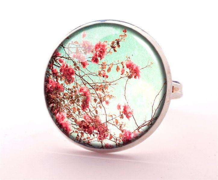 Wildflowers Ring, Retro Jewellery, 0386RS from EgginEgg by DaWanda.com